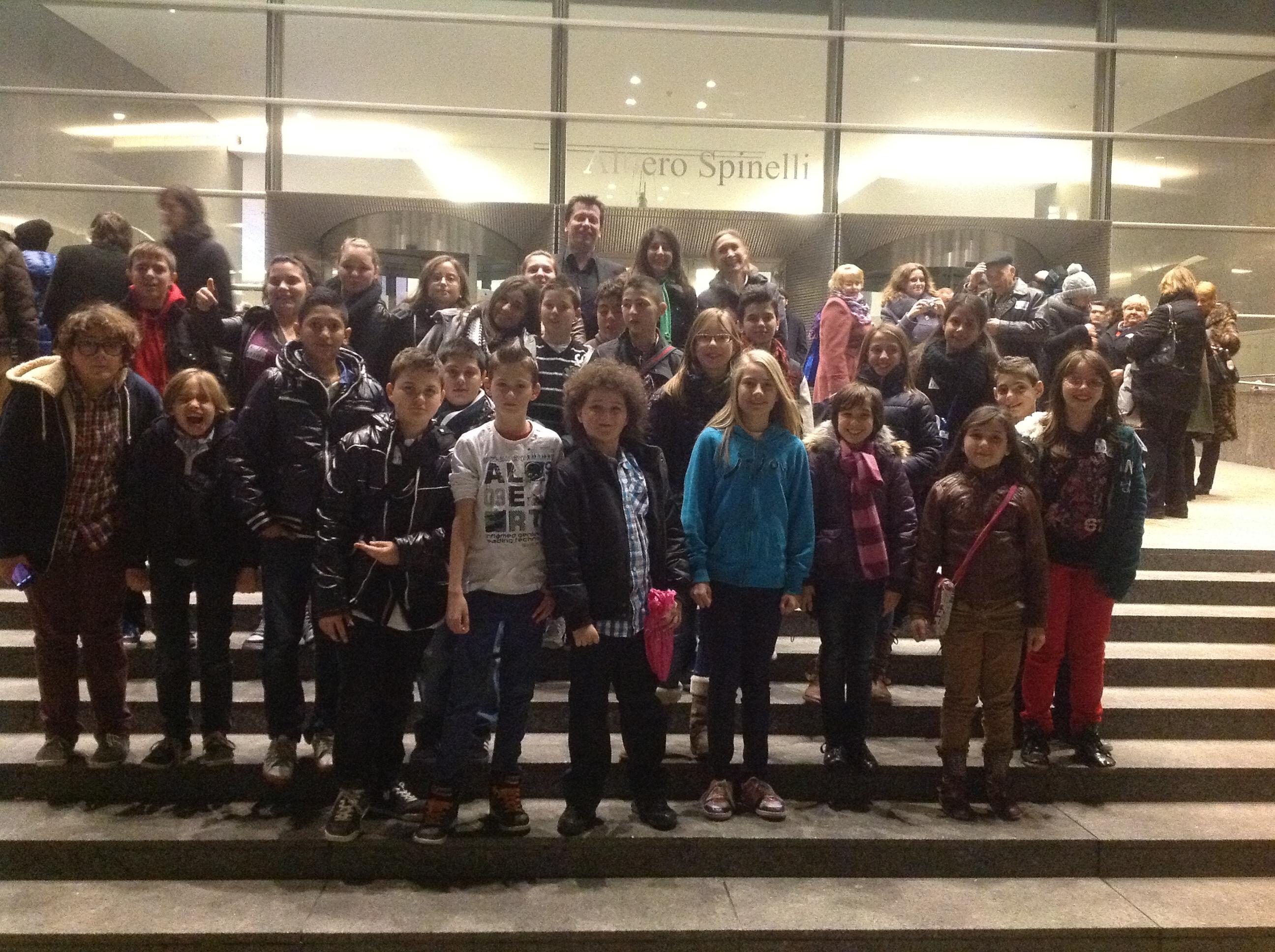 Visite au parlement européen • novembre 2012