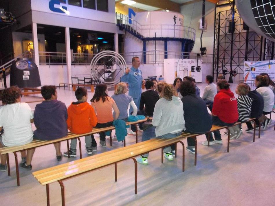 Visite à l'Euro Space Center