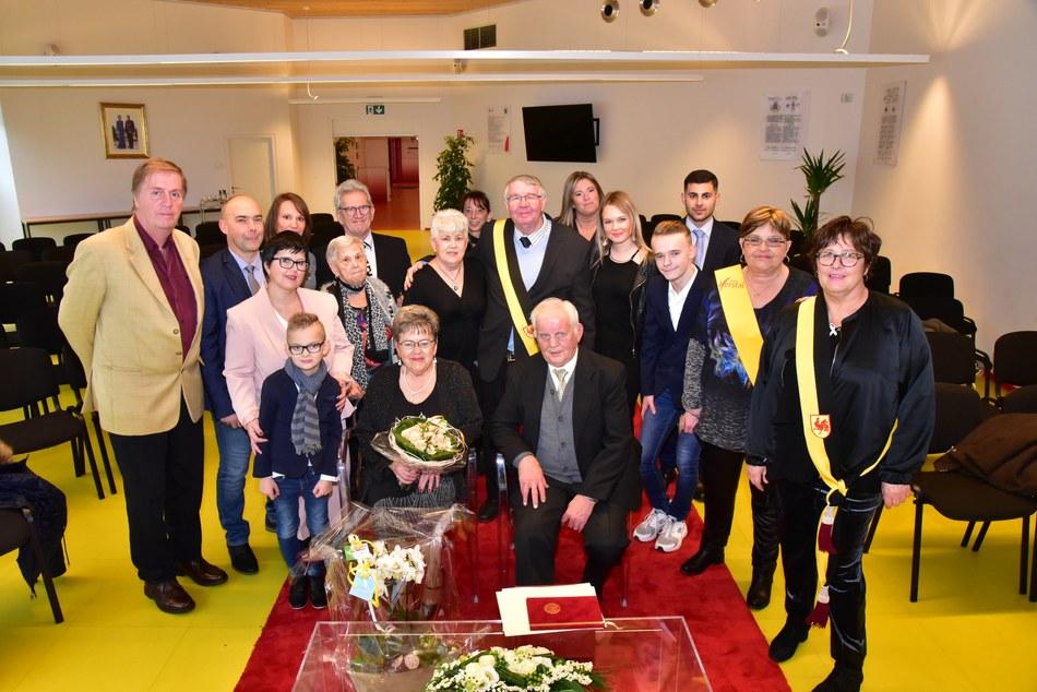 Noces d'or des époux Vandendriessche-Corvers du 8  décembre 2018